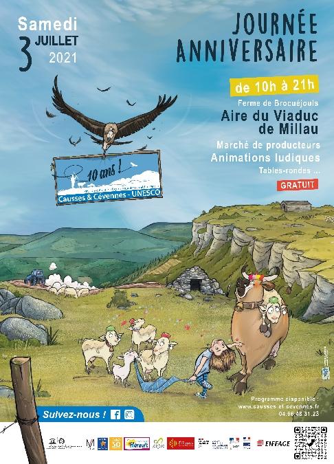 10 ans Causses et Cévennes Unesco - Journée anniversaire