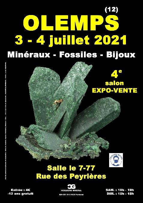 SALON - Minéraux, fossiles et bijoux