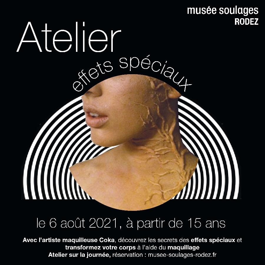 ATELIER EFFETS SPECIAUX DE CINEMA AU MUSÉE SOULAGES