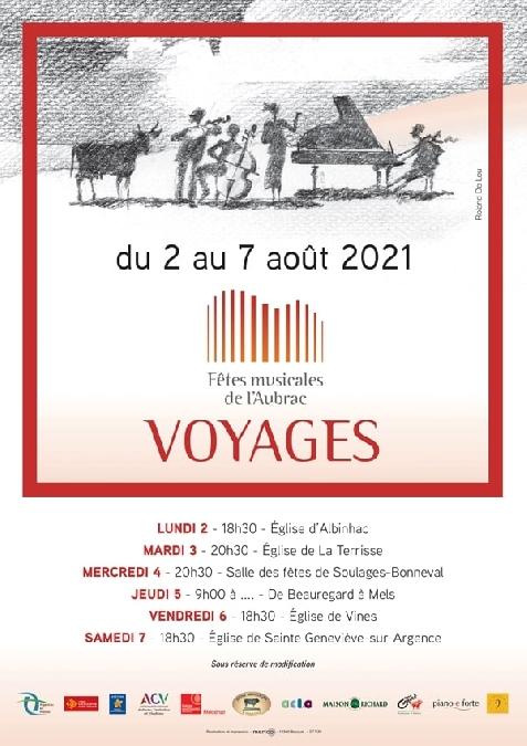 Fêtes musicales de l'Aubrac - Etonnants Voyageurs
