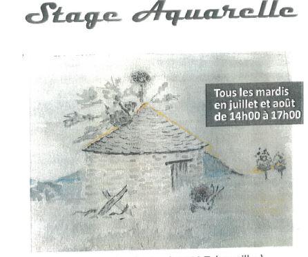 STAGE D'AQUARELLE