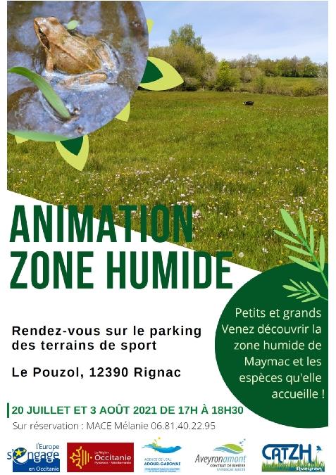 Animation zone humide