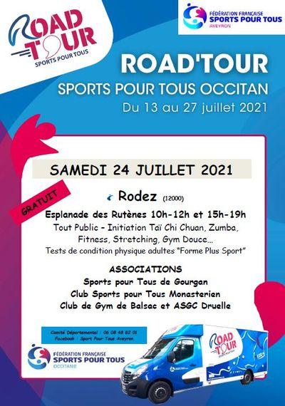 Road Tour - sports pour tous Occitan
