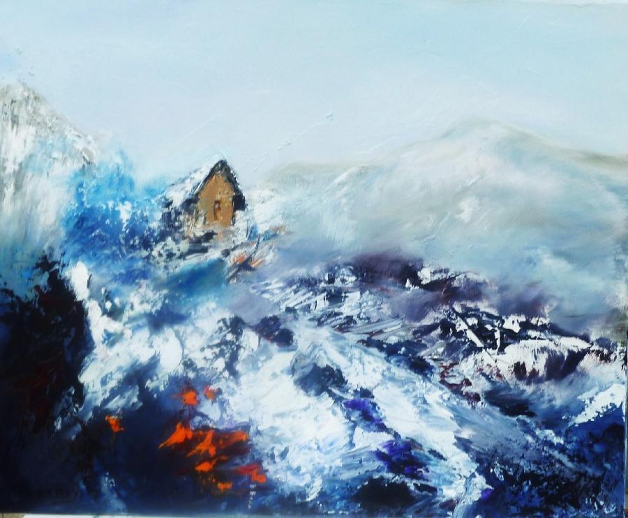 Exposition de peinture de Marie-Jeanne Rey