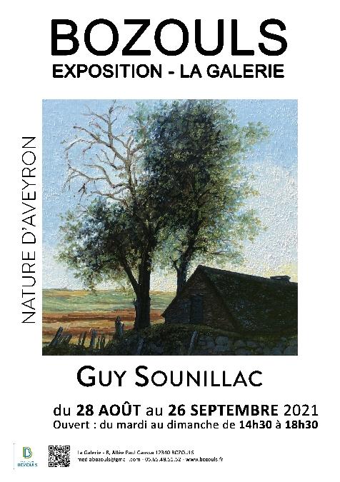 Exposition de Guy Sounillac: Nature d'Aveyron