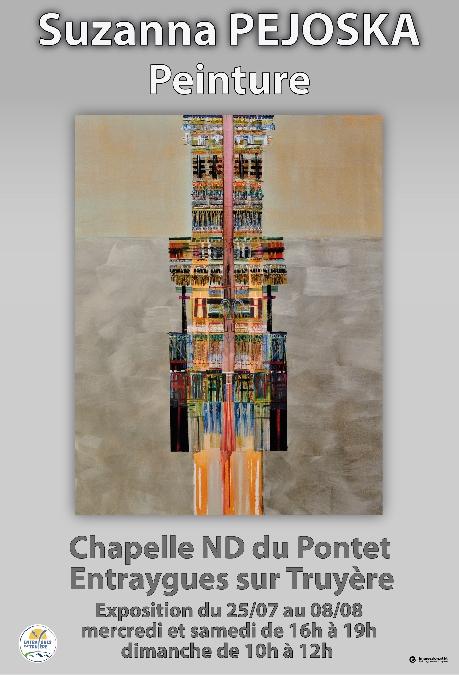 Expo de peinture de Suzanne Péjoska