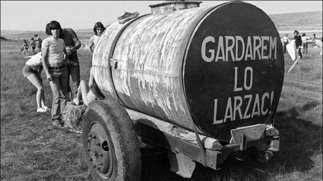 A la rencontre des paysans du Larzac