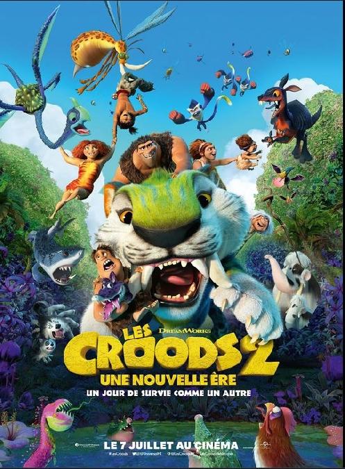 Cinéma : LES CROODS 2