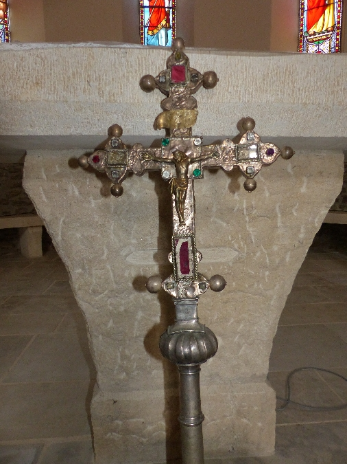 Journées européennes du patrimoine 2021 - L'église de Tayac et sa croix processionnaire