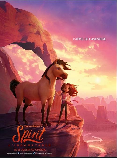 Cinéma : Spirit : l'indomptable
