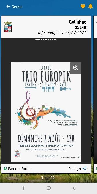 Concert Trio Europik