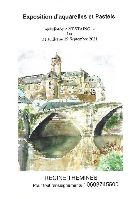 Exposition d'aquarelles et pastels