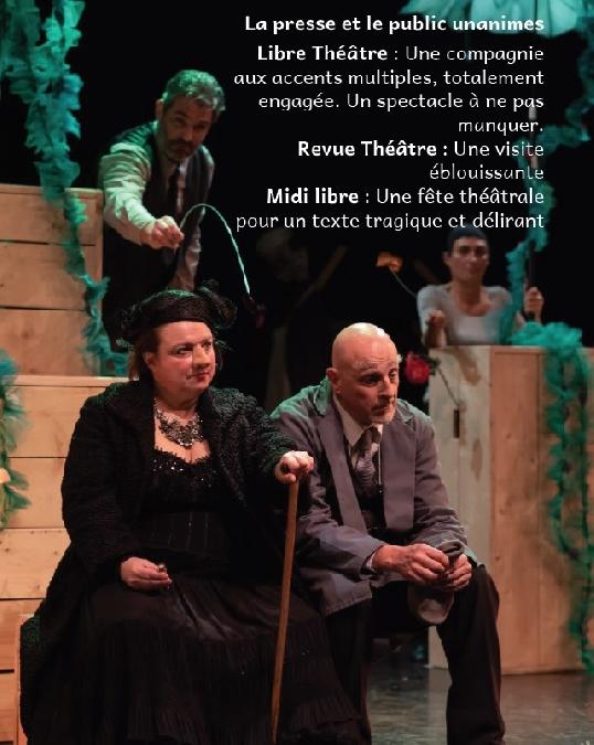 Théâtre - La Visite de la vieille Dame