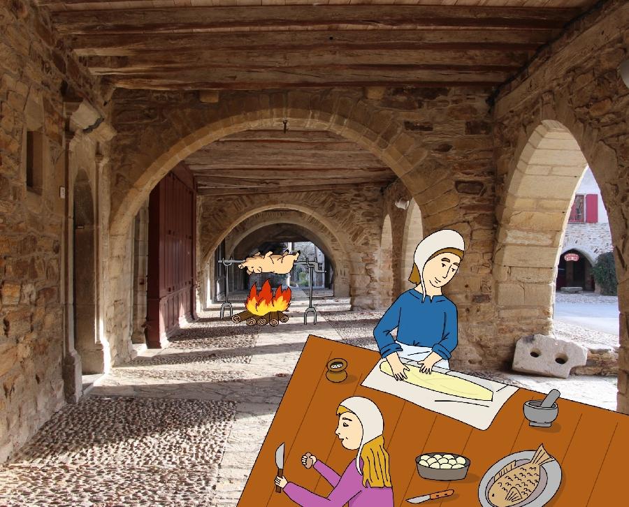Week-end en famille autour des saveurs et de l'artisanat du Moyen-Âge