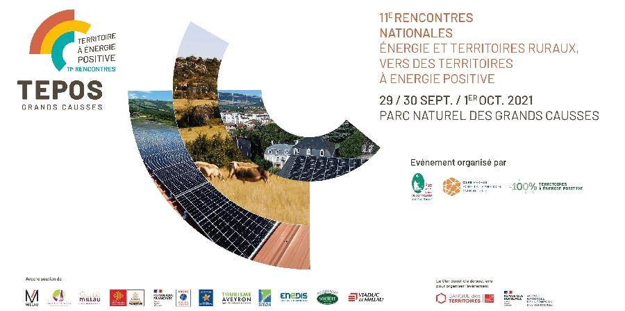 11e rencontre TEPOS -Territoire A Energie Positive