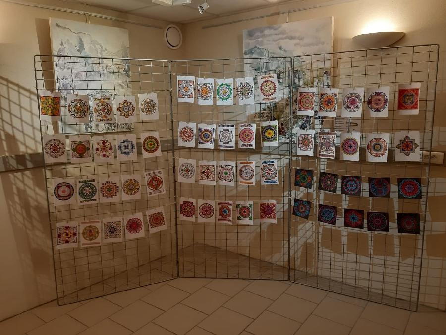 Exposition de mandalas