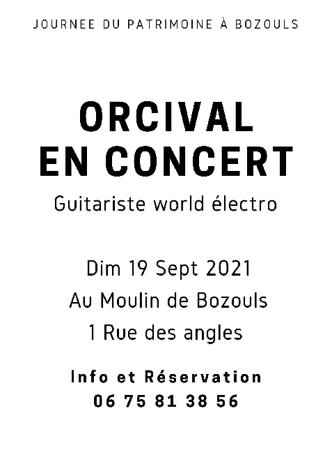 Orcival en concert