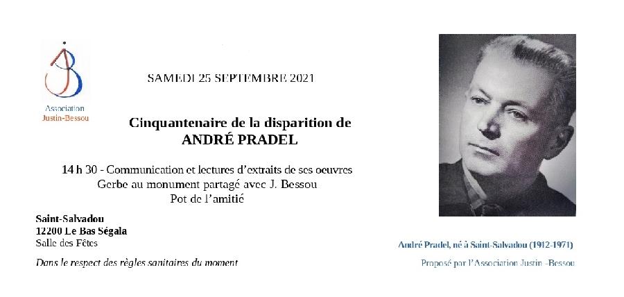 Hommage à André Pradel, auteur occitan