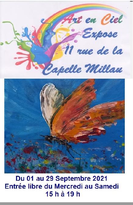 exposition Art en Ciel