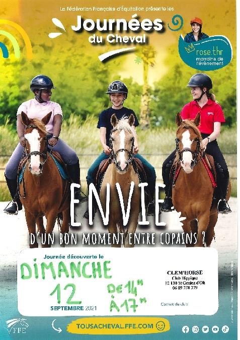 Journées du cheval : Equifun au club hippique de St Geniez