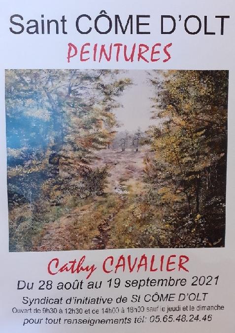 Exposition Peintures Cathy Cavalier