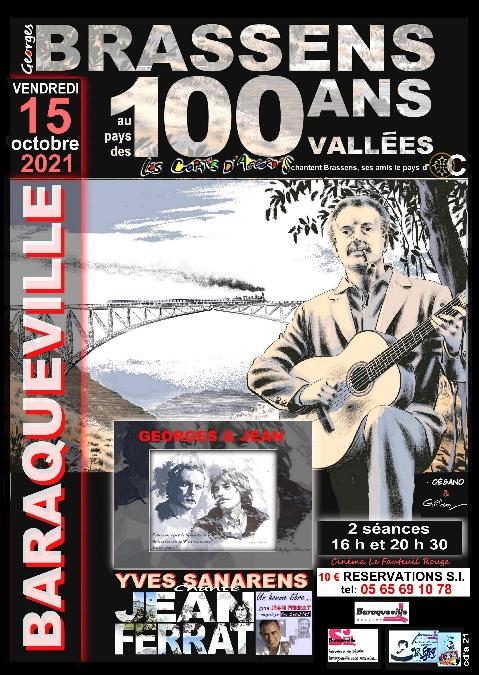 Concert Georges Brassens et Jean Ferrat