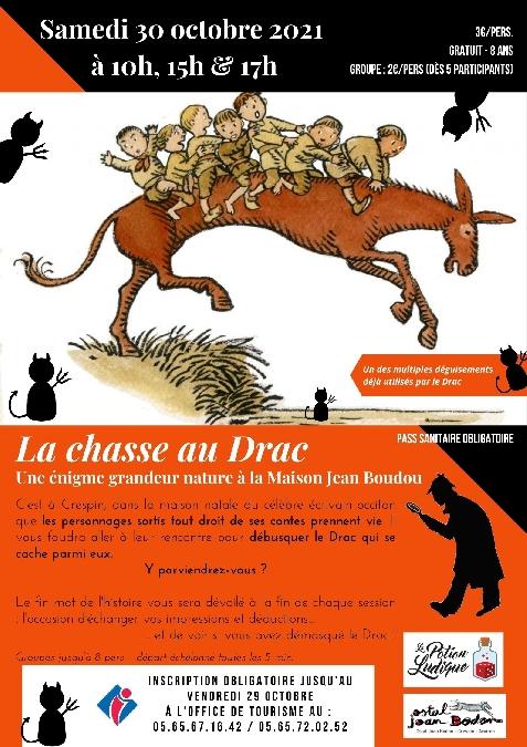 Enigme grandeur nature : La chasse au Drac chez Jean Boudou