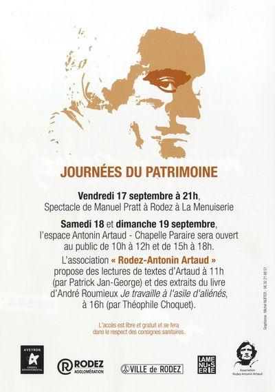 Journées du Patrimoine à la Chapelle Artaud