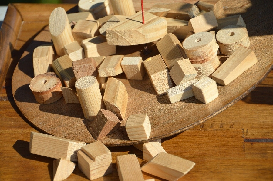 Atelier Construction de jeux en bois