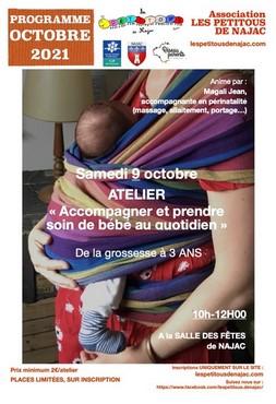 Programme d'octobre de l'association