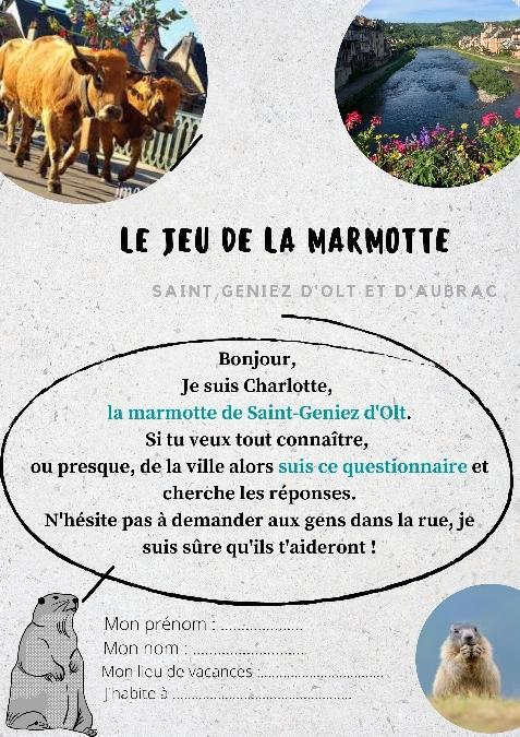 Le jeu de la Marmotte à St Geniez d'Olt
