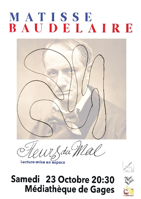 Spectacle Matisse - Baudelaire