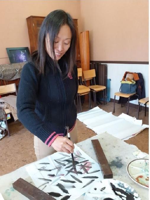 Stage de peinture traditionnelle chinoise