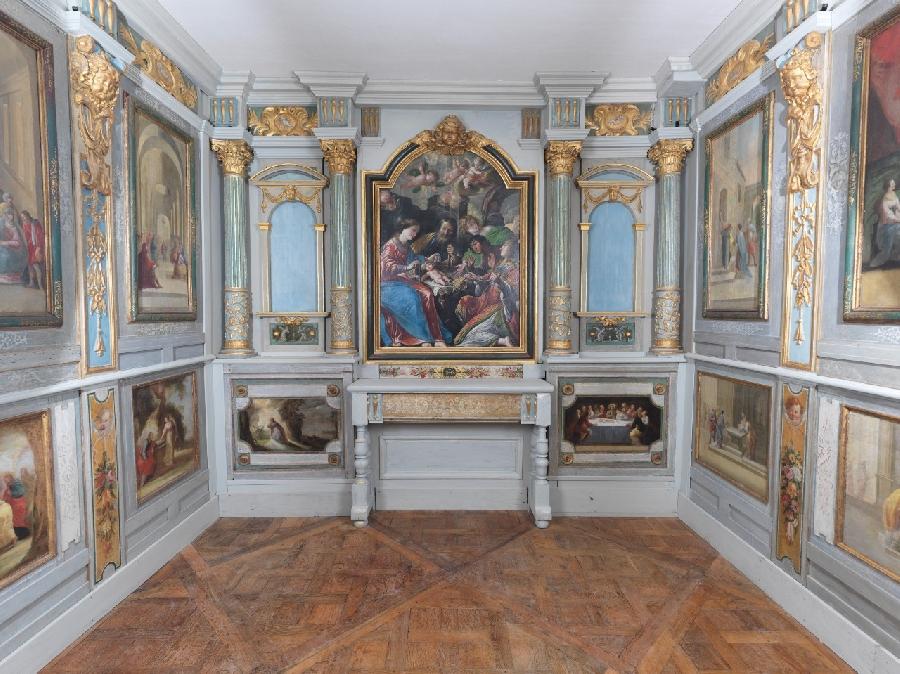 Visite guidée des collections et de la chapelle du château de Bournazel
