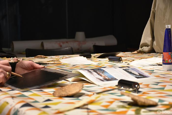 Atelier d'initiation à la gravure - taille douce (tout public)