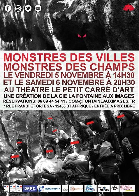 Théâtre Monstres des villes, monstres des champs.